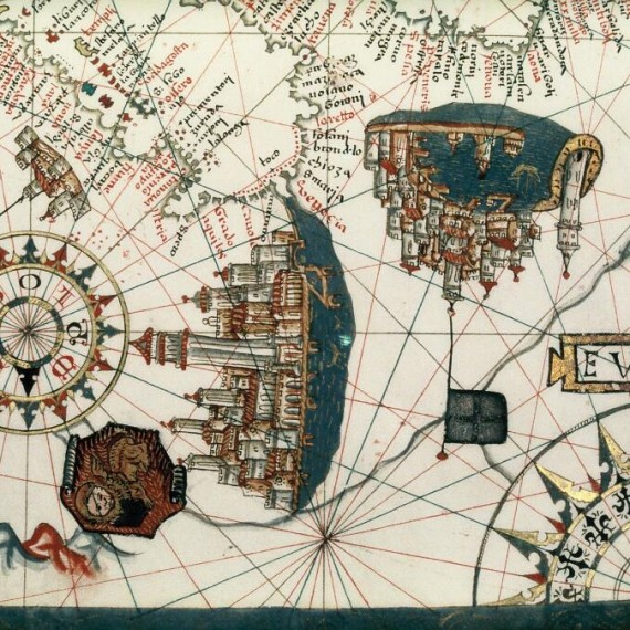 Bodleian_Libraries,_Closeup_of_Venice_and_Genoa_in_portolan_chart_of_the_central_and_western_Mediterranean_and_part_of_the_Atlantic